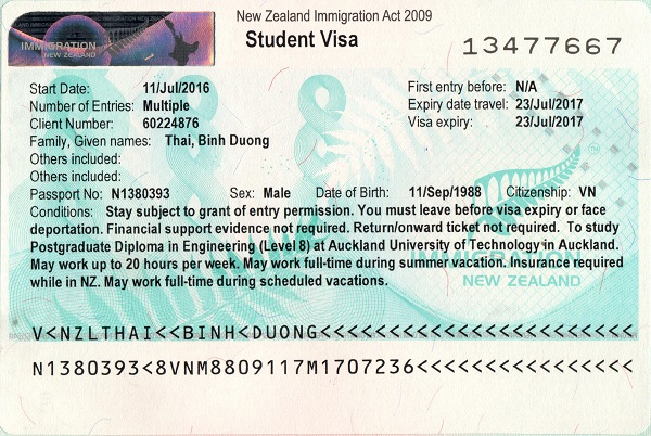 Dịch vụ làm visa New Zealand uy tín