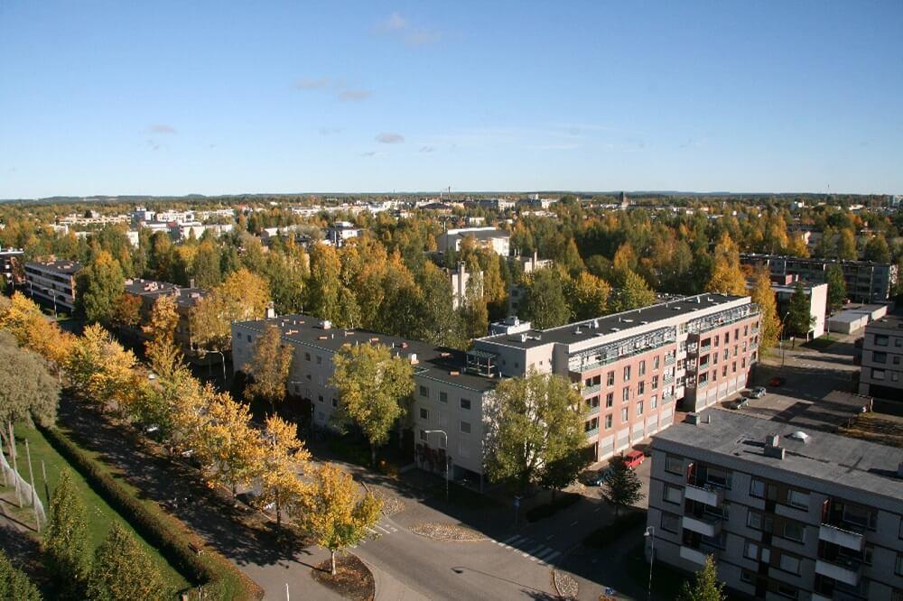Đại học Đông Phần Lan là sự sát nhập của 2 trường và Kuopio